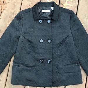 Liz Claiborne dressy Black Blazer size 10